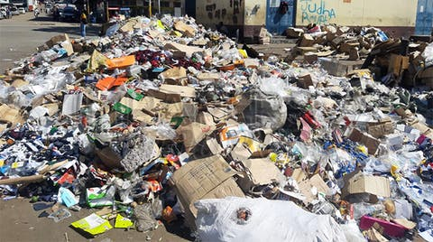 Harare fined for failure to collect refuse