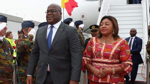 DR Congo activist held after claims on first lady