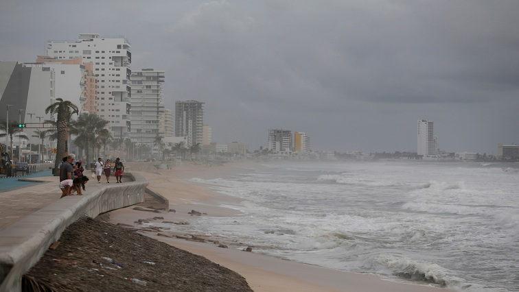 Storm Pamela knocks down trees, floods streets in western Mexico